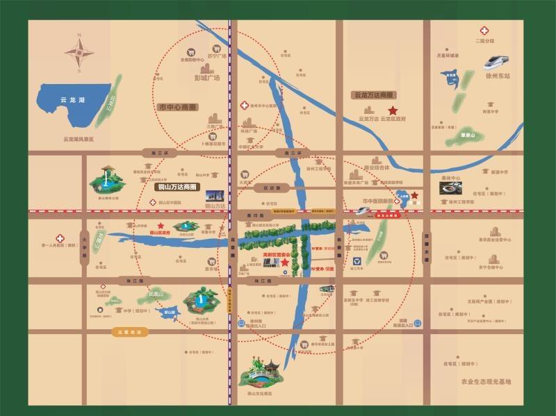 珍宝岛熙悦府项目区位图