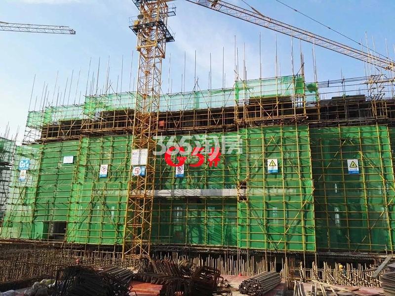 公元天下G5#工程进度实景图(2018.2.23)