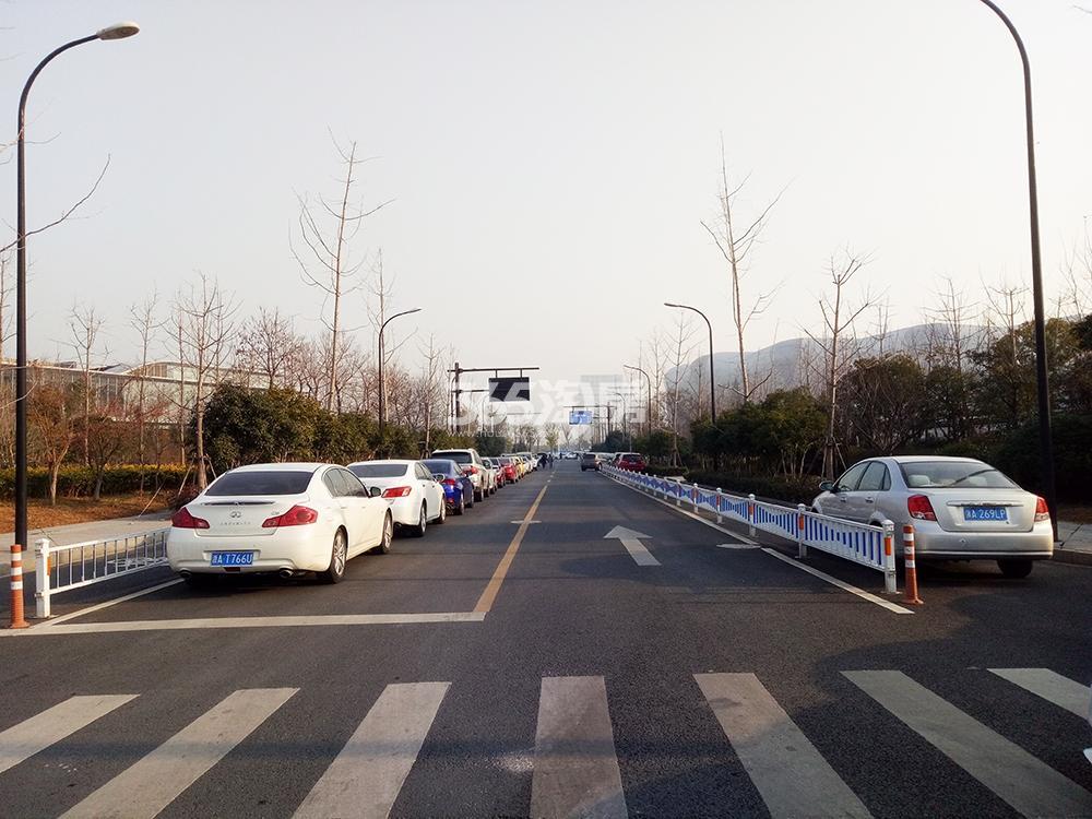 2017.12.26信达中心|杭州壹号院周边道路实景