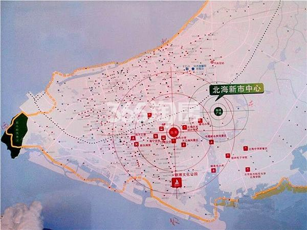 东峰世纪公寓交通图