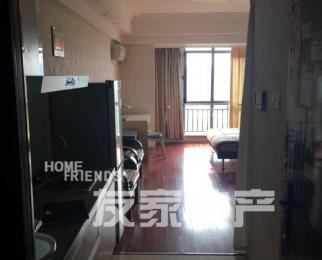 万达精装单身公寓 可凭窗眺望远方 家具家电齐全 可拎包入住
