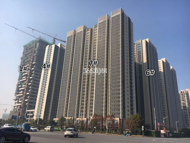 明发财富中心1、4、6、7号楼实景图(12.14)