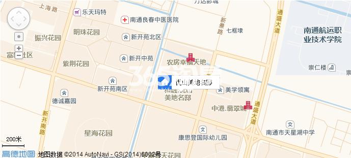 优山美地名邸交通图