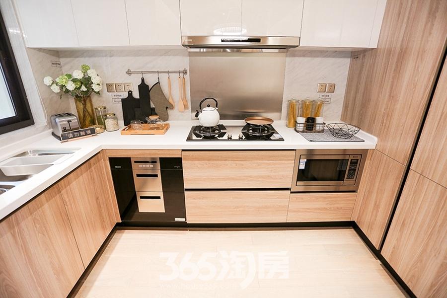 保利香颂134平样板间-厨房