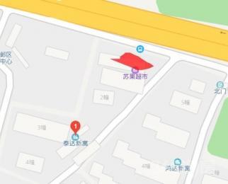 金鹰世界应天大街一楼临街公交站台400平米简装整租