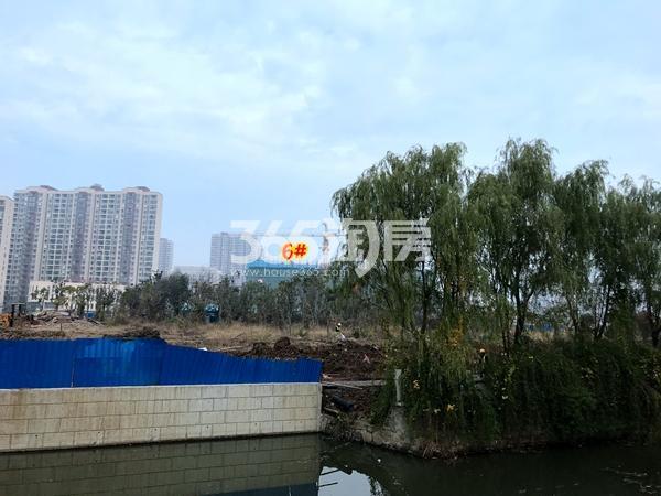 蠡湖金茂府C地块6#楼工程进度实景图(2017.12摄)