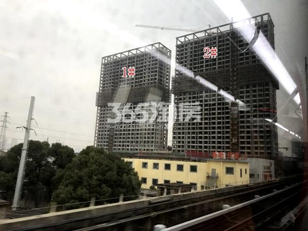 万荟城1#、2#公寓楼实景(2017.12)