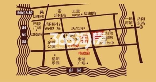 中建·岳阳中心交通图