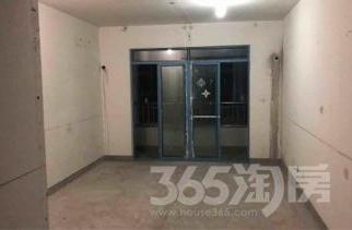 同曦国际2室2厅1卫104平米毛坯产权房2009年建