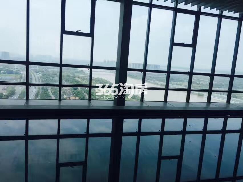 涵碧楼观景平台实景图(7.24)