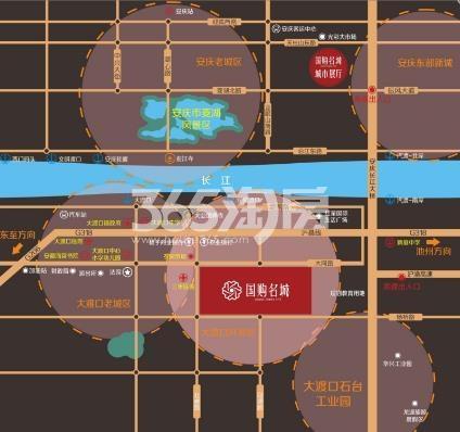 国购名城交通图