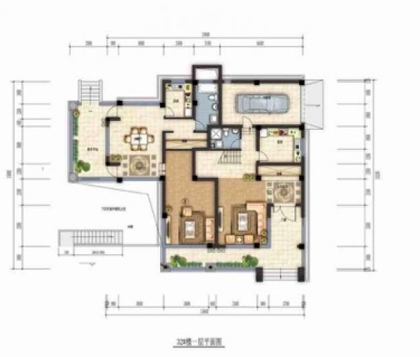 长山郡5室3厅3卫330平米毛坯使用权房2017年建