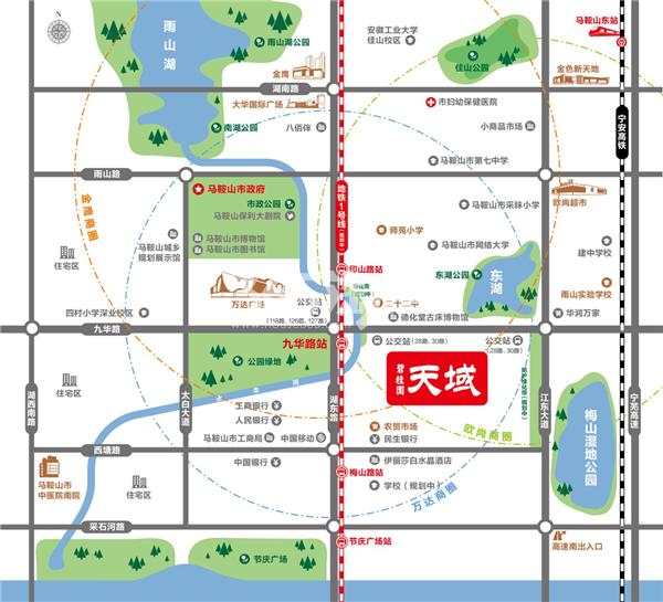 碧桂园·天域交通图