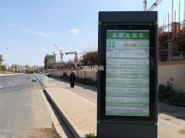 蓝天慧融花园周边公交(5.13)