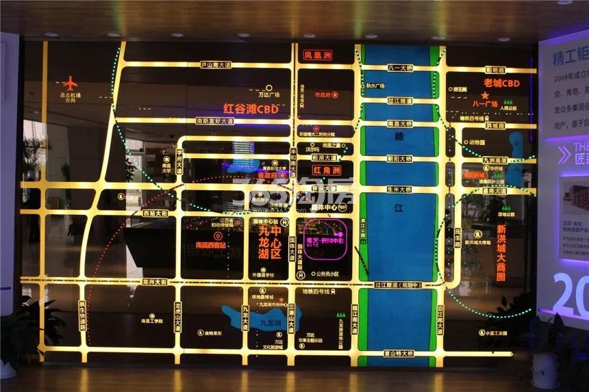 恒天时尚中心交通图