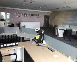 河西万达广场 办公精装写字楼 集庆门大街地铁口 拎包办公