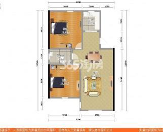 直降20万花园路5号财大小区2室2厅1卫85.42平精装地铁