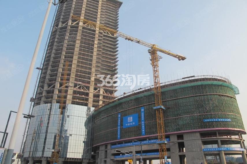 九龙仓国际金融中心实景图