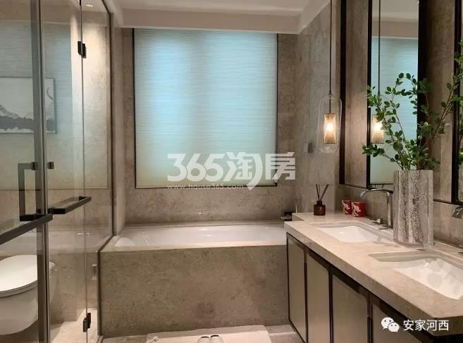 海玥花园项目240㎡样板间--卫浴