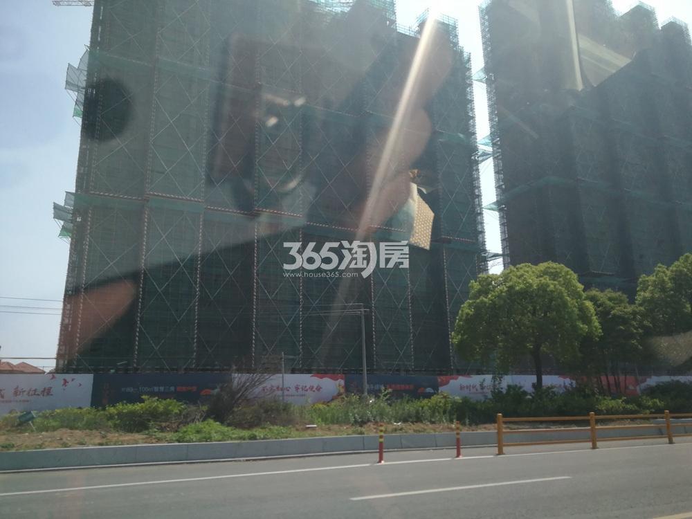 仙林首望城实景图