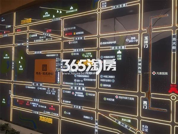 德杰状元府邸售楼部区位实景(2017.7.3)