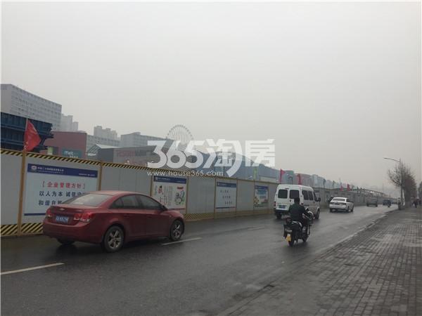 弘阳时代中心周边施工道路(2.28)