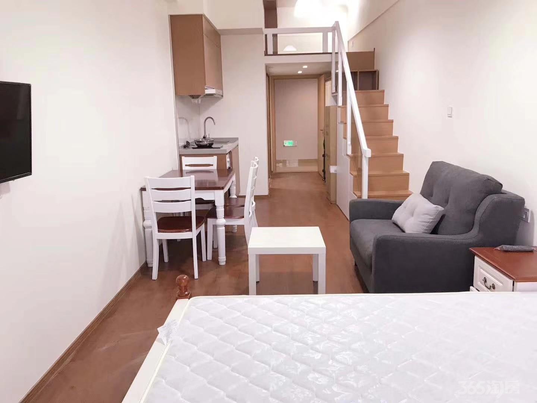 华元欢乐城1室1厅1卫45平米整租精装