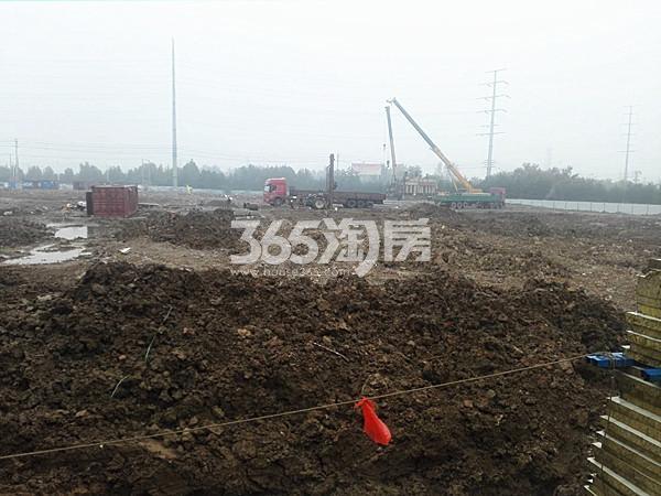 珍宝岛熙悦府工地实景图(10.17)