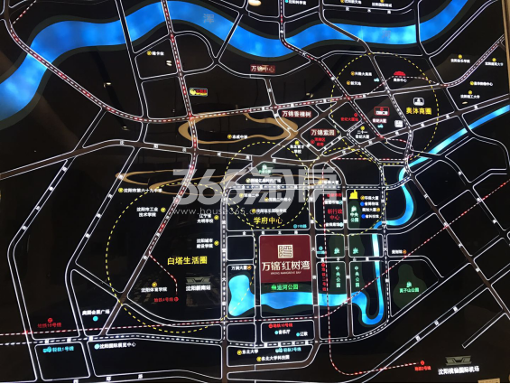 万锦红树湾交通图
