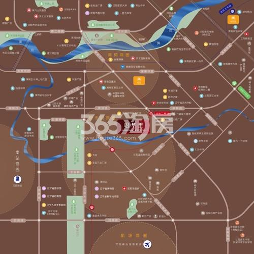 华润置地|昭华里交通图