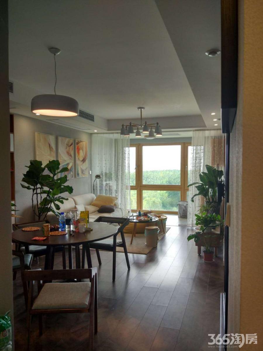 正荣润江城3室2厅1卫86.4平方产权房豪华装