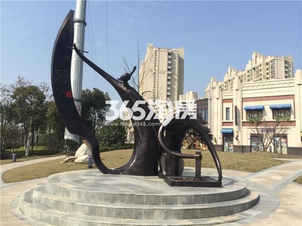 无锡万达文化旅游城C地块实景图(2016.02摄)