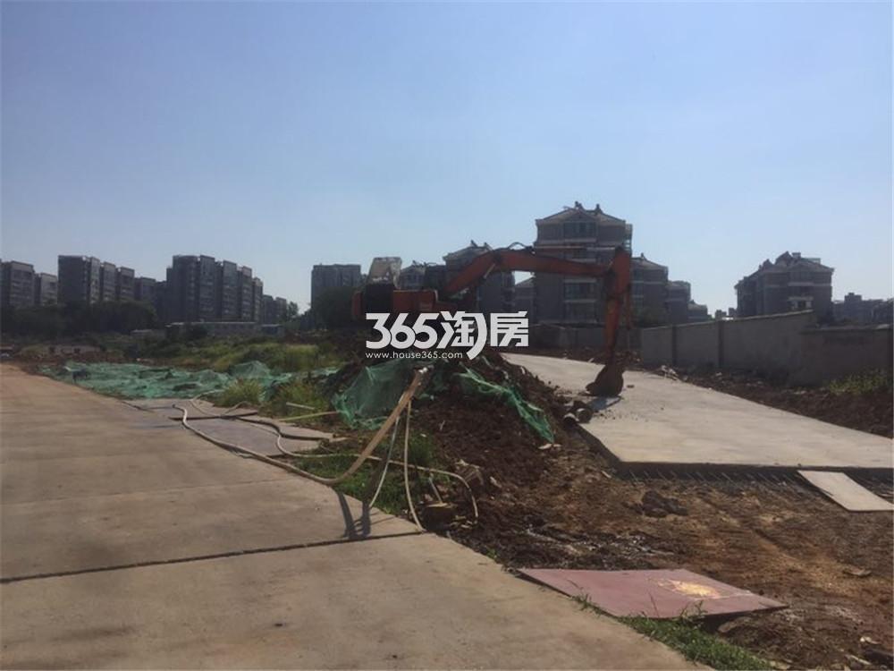 银城江浦G99地块实景图