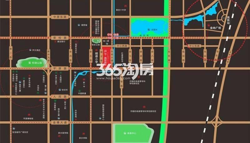 润华翡翠国际交通图