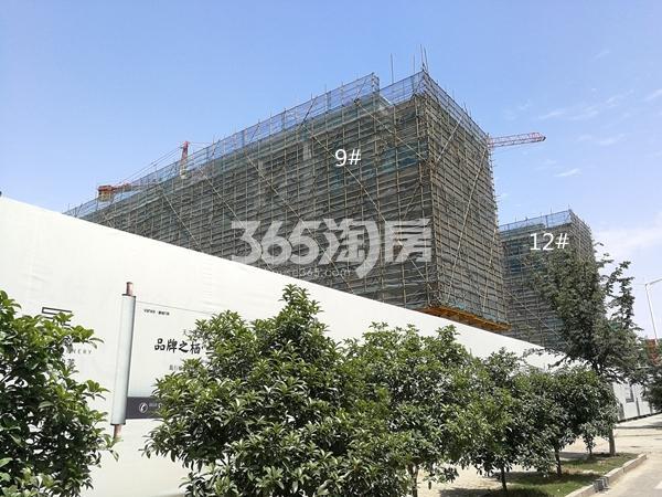 万科天一玖著9#、12#楼洋房实景(2018.5)