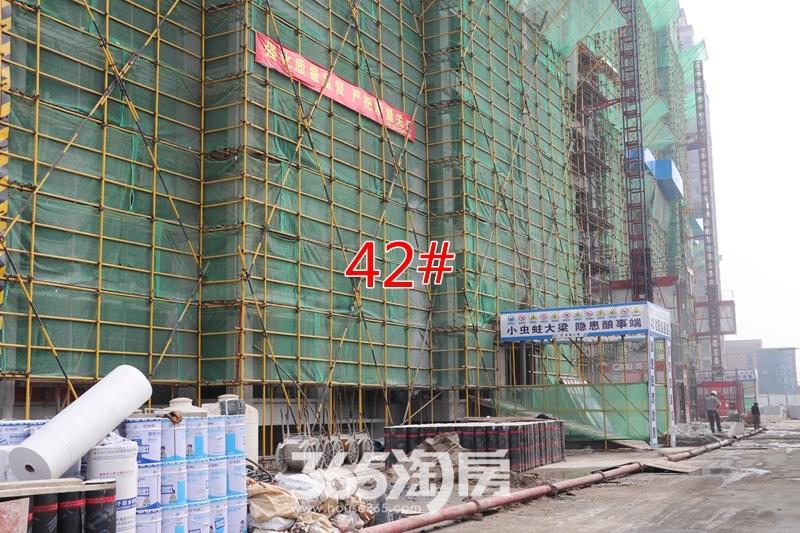 新里城42#工程进度(2019.7摄)