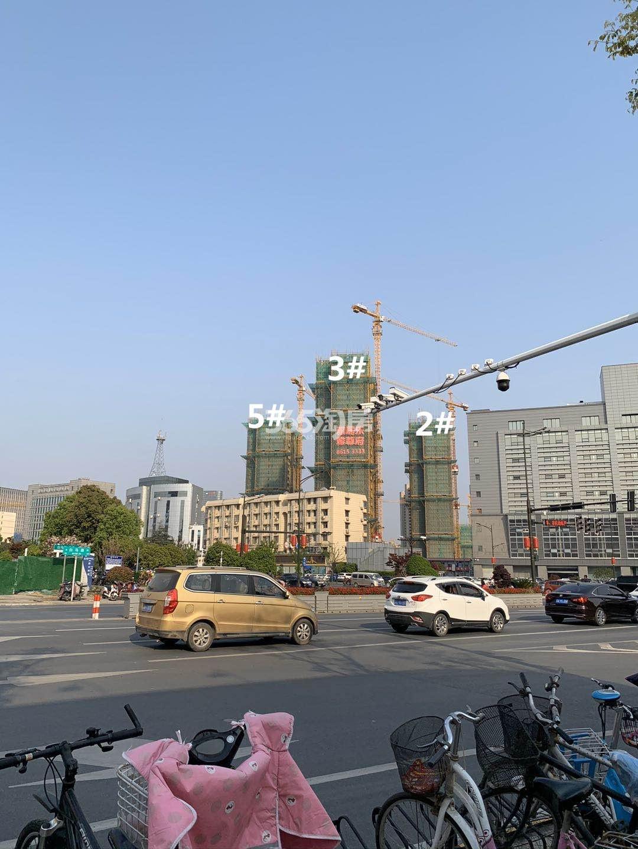 雅居乐雅尊府5、3、2号楼实景图(4.29)