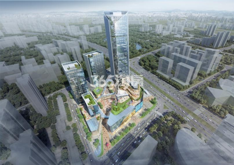 正荣河西南部G64项目B地块效果图