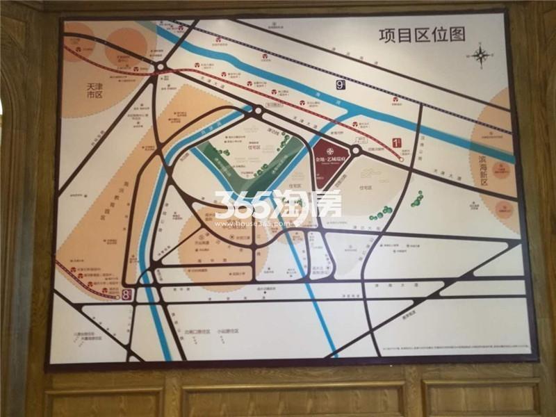 金地艺城瑞府交通图