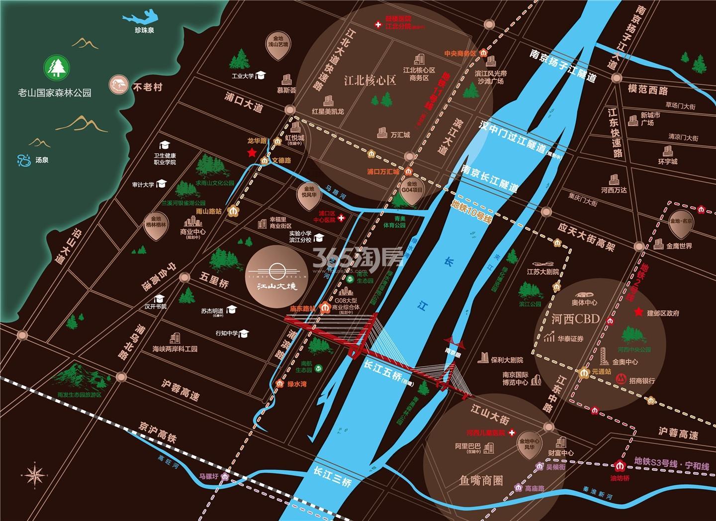 江山大境交通区位图