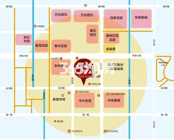 大海银座广场交通图