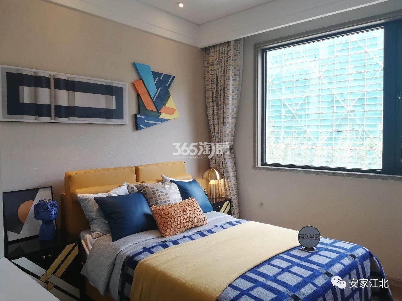 江山大境洋房128㎡样板间-卧室