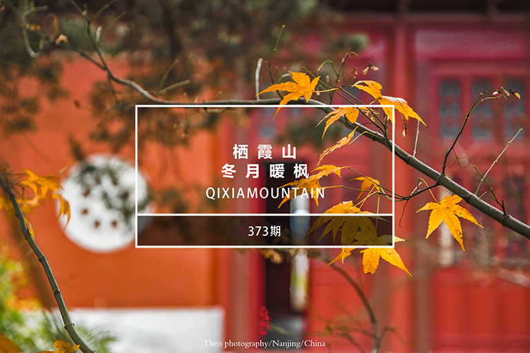 光影石城373:栖霞山―冬月暖枫