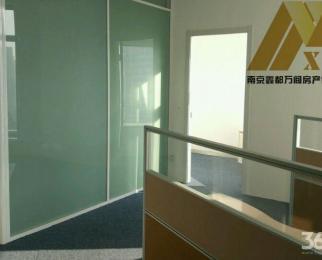 南京中心租赁部 南京地标双地铁正对电梯口办公精装