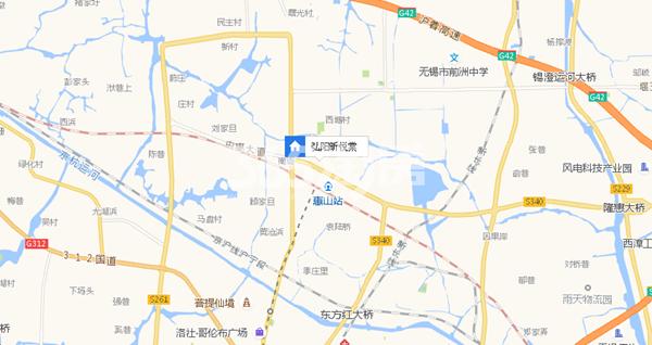 弘阳昕悦棠交通图