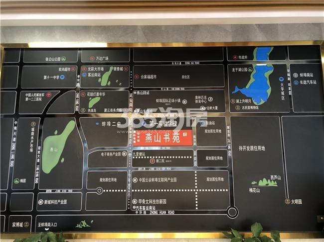 海创·燕山书苑交通图