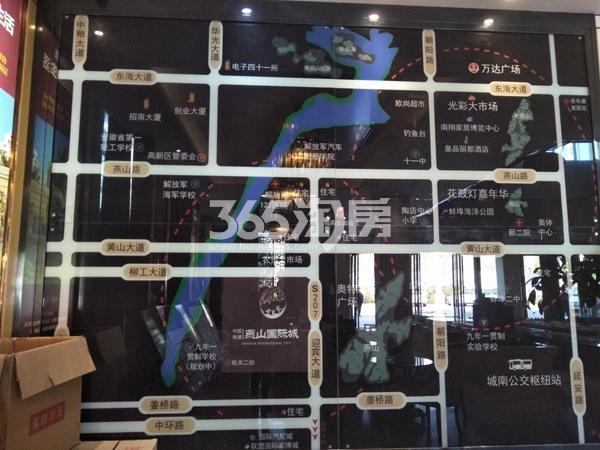 中国铁建・燕山国际城 区位图 201805