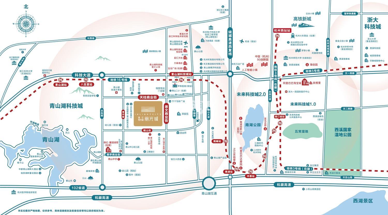 丽光城交通图