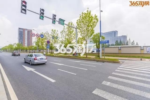 上海建工东山G45地块实景图