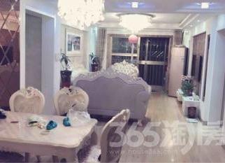 鸠兹家苑3室2厅1卫122平米豪华装产权房2012年建